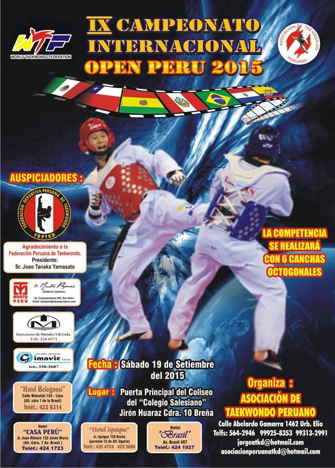 ix campeonato internacional open peru 2015
